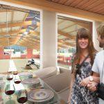 LA FARNESINA - Vista prospettica: Club_house_ristorante